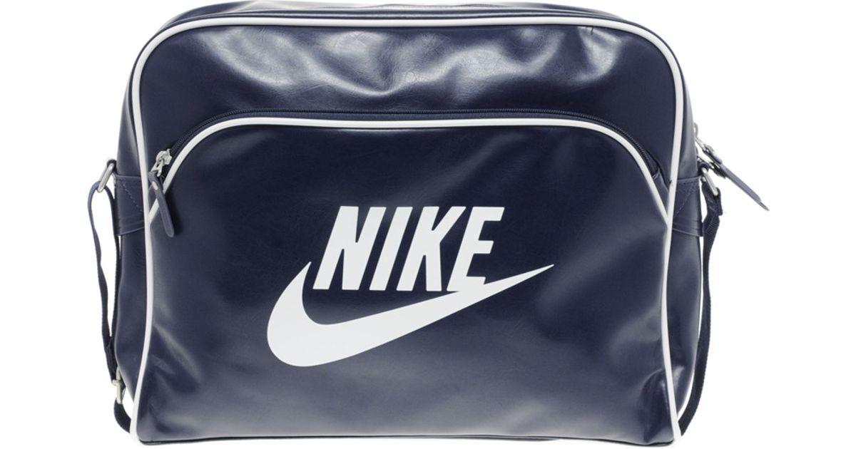 Lyst - Nike Heritage Messenger Bag in Blue for Men