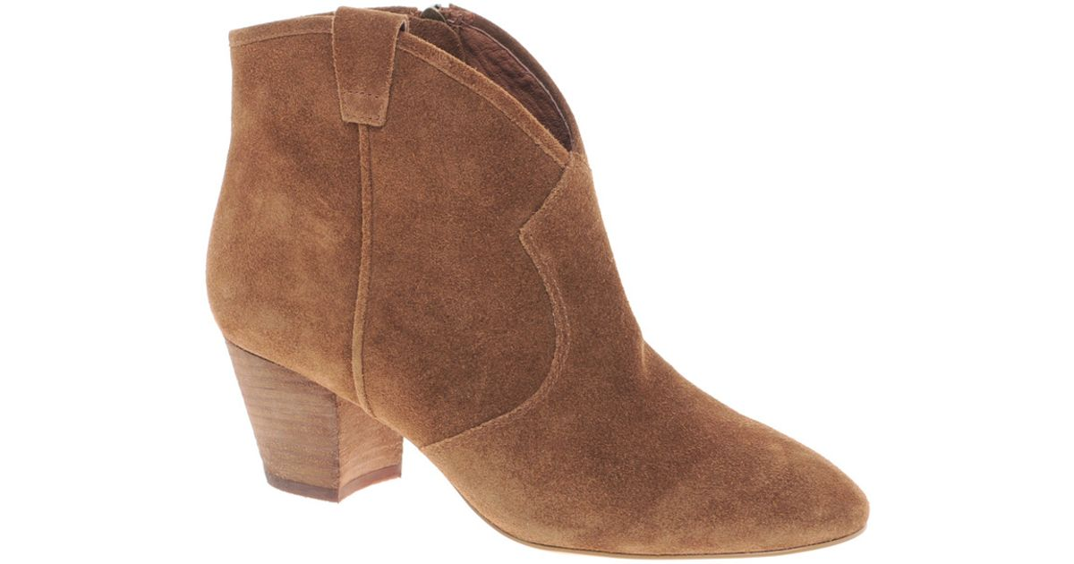 2cabeb7713c Ash Spiral Camel Western Boots in Brown - Lyst