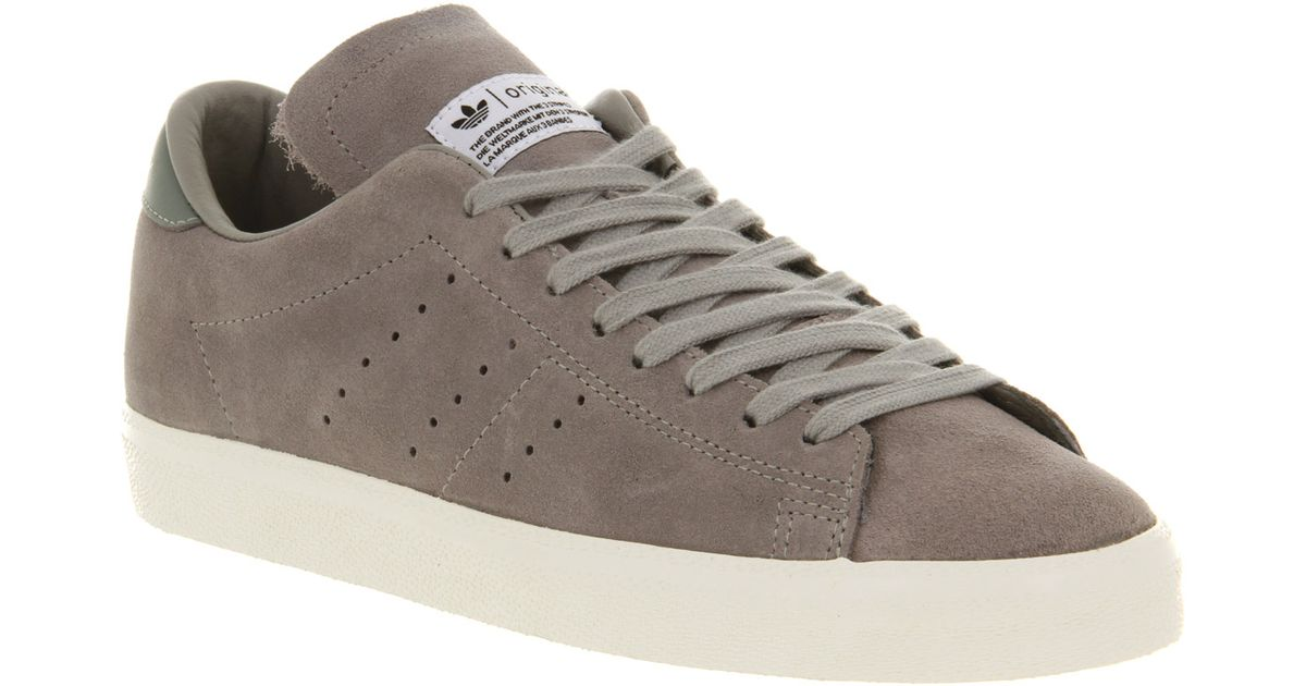 e5839e55f9d Adidas Match Play Shift Grey Chalk in Gray for Men - Lyst