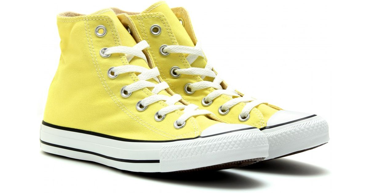 Converse Yellow Chuck Taylor All Star Hightops