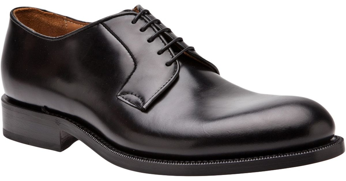 Raf Simons Laceup Dress Shoes in Black