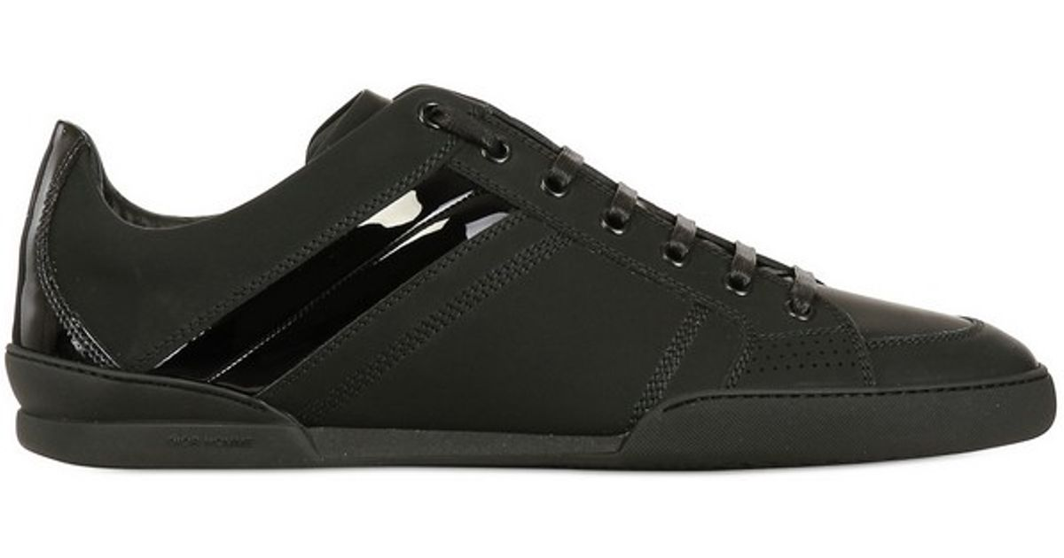 Dior Homme Contrasting Stripe Leather