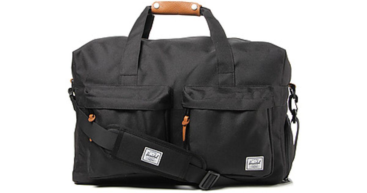 Lyst - Herschel Supply Co. The Walton Duffle Bag in Black in Black for Men 7583ead8854b7