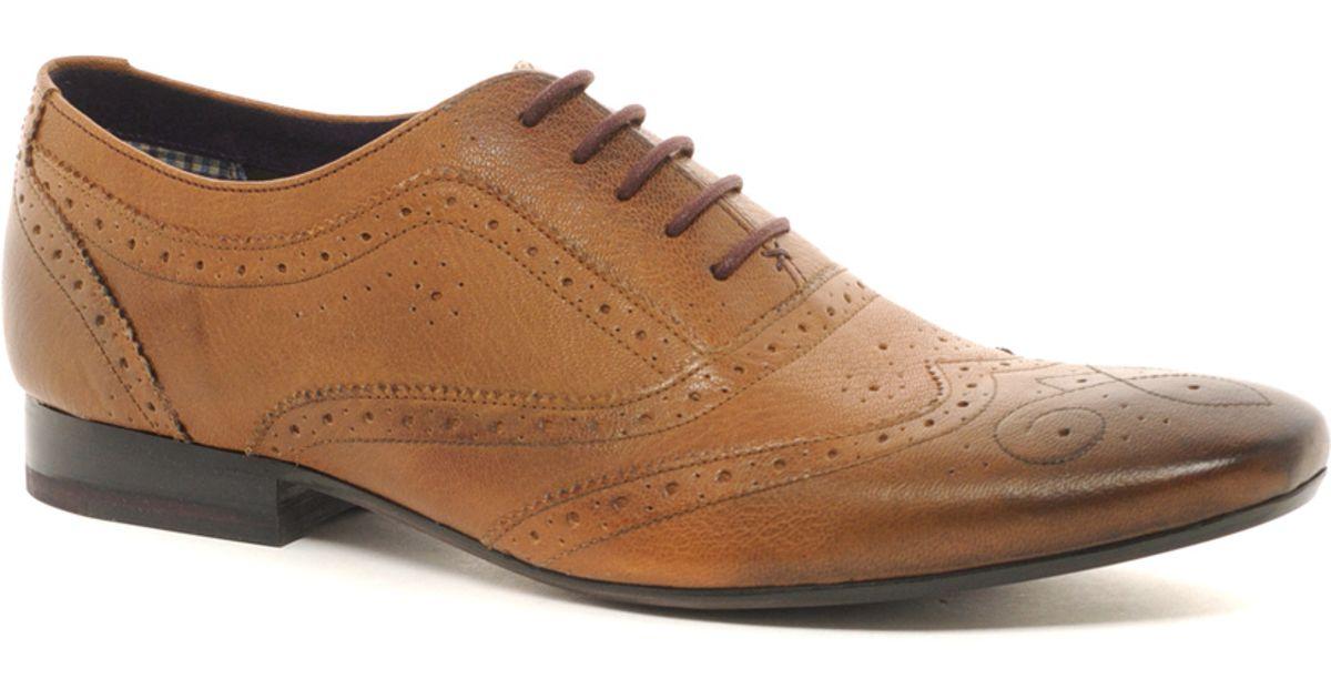 75dece0ecf853 Lyst - Ted Baker Cirek Brogue Shoes in Brown for Men