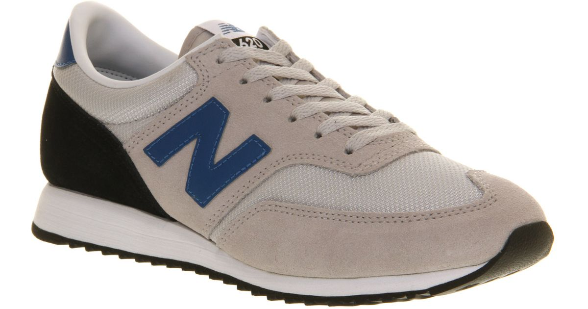 New Balance 620 Grey Blue in Gray for