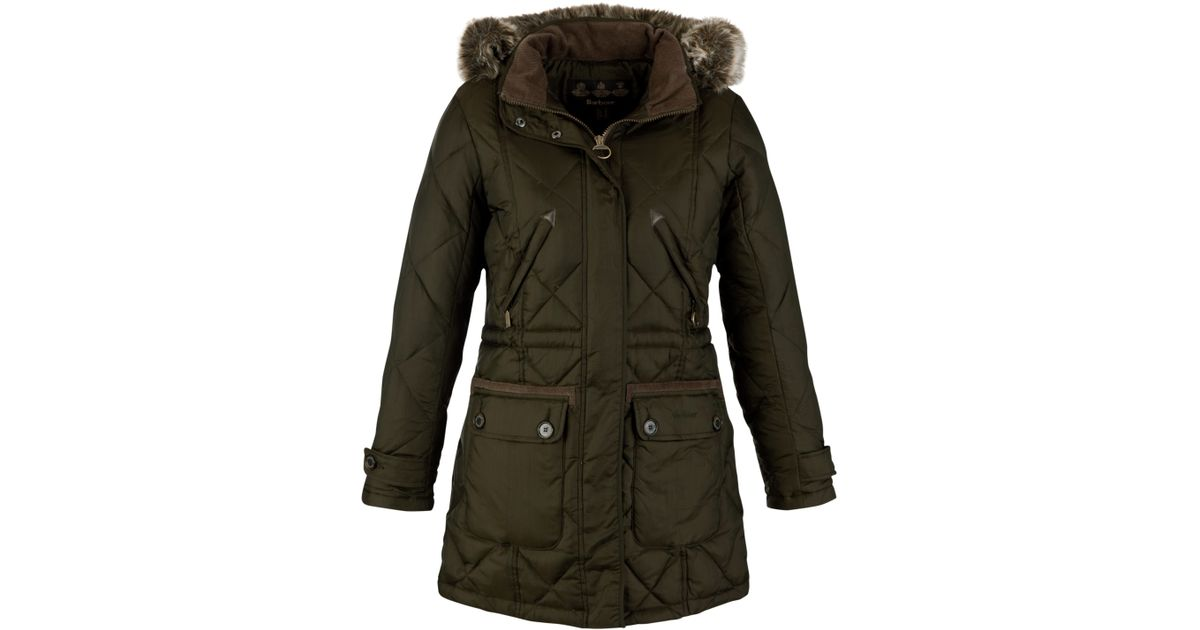 best sneakers aca5d ac23e Barbour Green Bowfell Down Parka