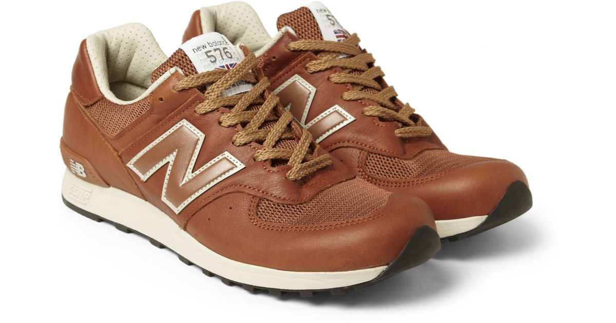 new balance brown leather 576