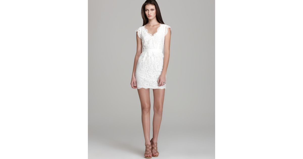 Lyst - Joie Dress Lebanon Lace Exclusive in White