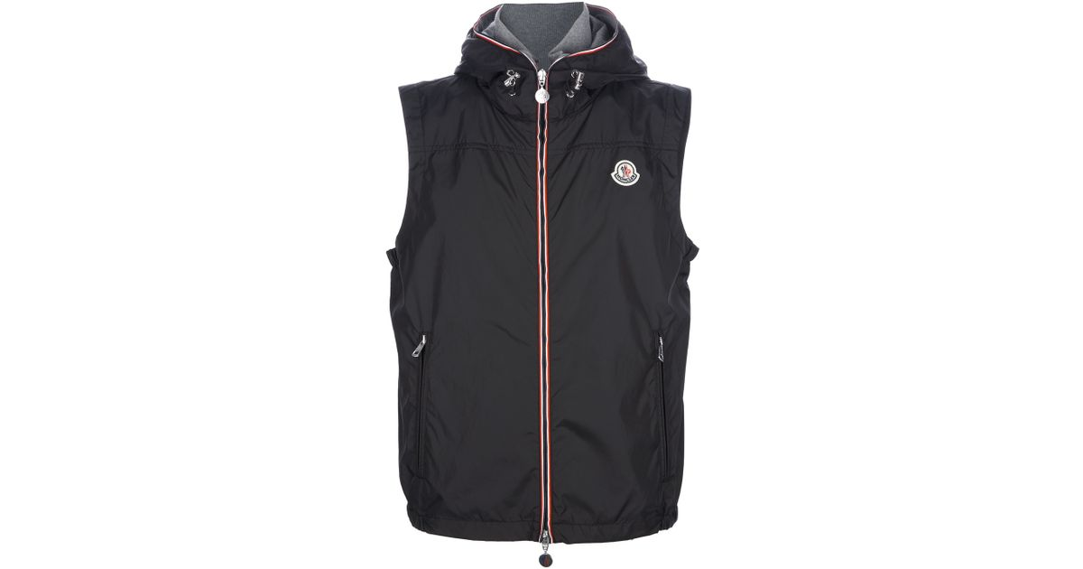 d4faa226ba1a Lyst - Moncler Deneb Gilet in Red for Men