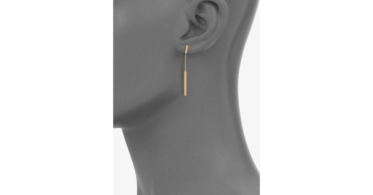93c8dd3fe56 Gucci Gold Drop Earrings - Image Of Earring