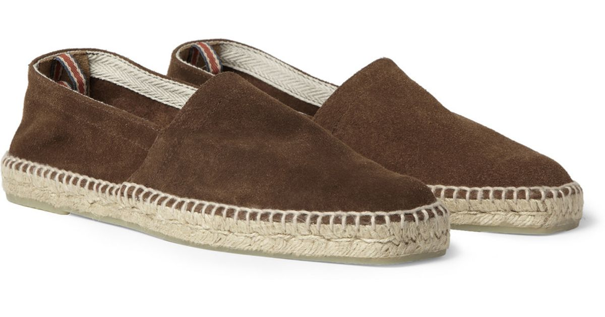 27cf8fe87 Castaner Pablo Suede Espadrilles in Brown for Men - Lyst