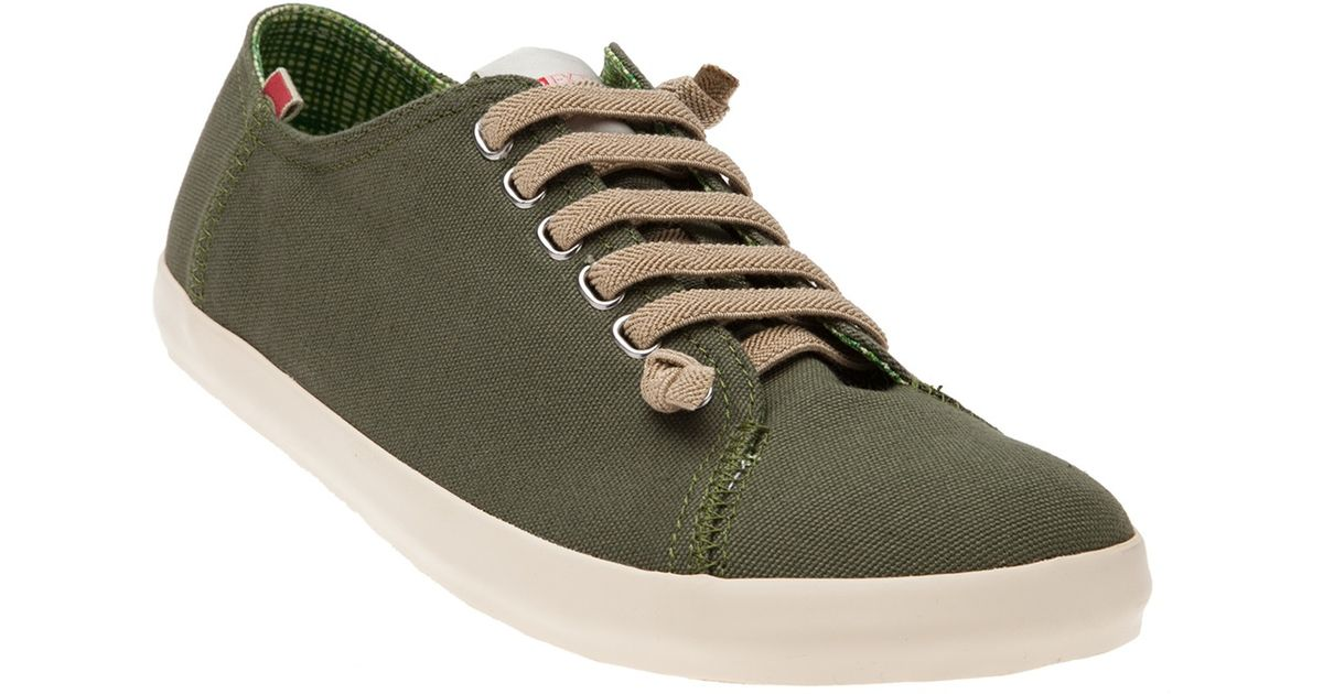 Camper Peu Canvas Sneaker in Green for