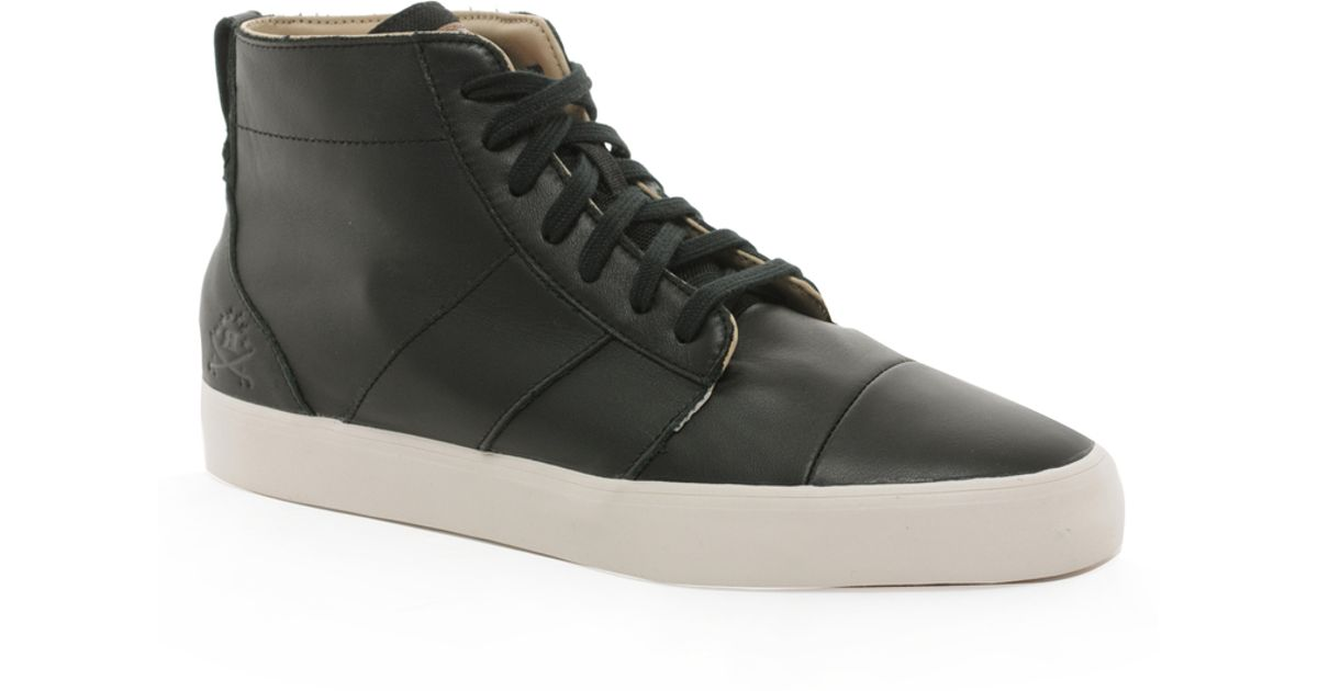 Adidas Black Originals Ransom Army Trail Mid Sneakers for men
