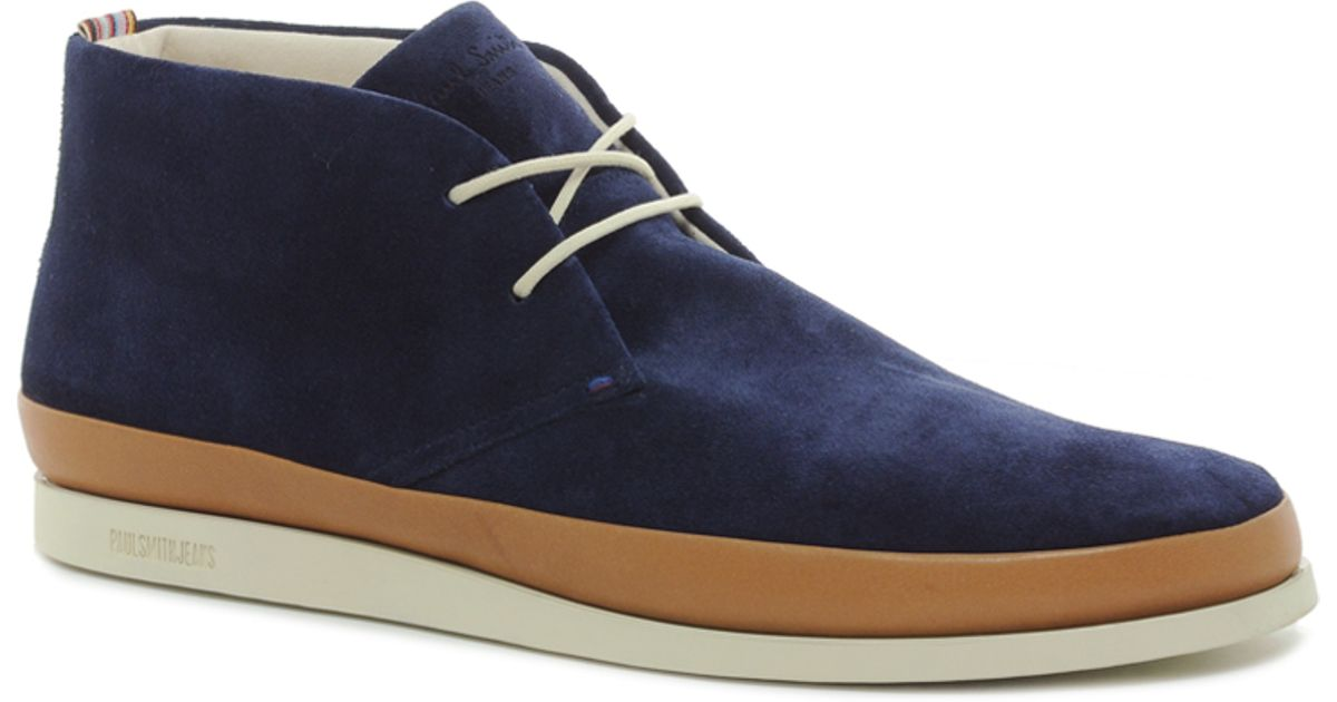 7da640e7971 Paul Smith Blue Jeans Loomis Chukka Boots for men