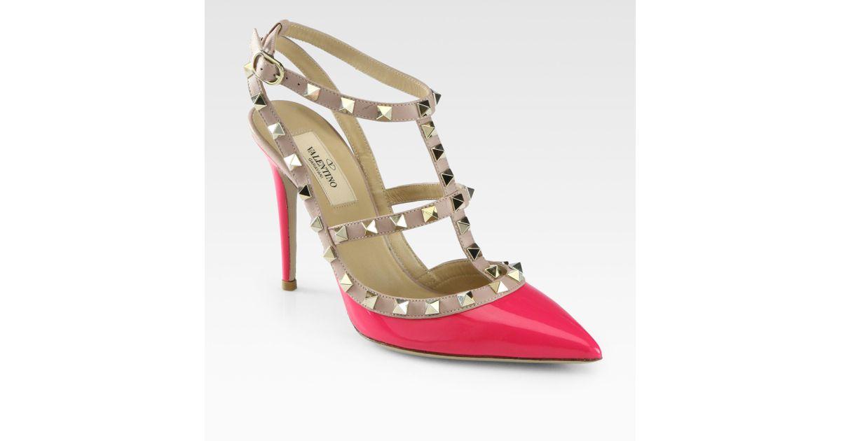 outlet 2014 newest Valentino Patent Leather Ankle-Strap Pumps cheap sale marketable amazing price sale 2015 new browse lJmn3qd