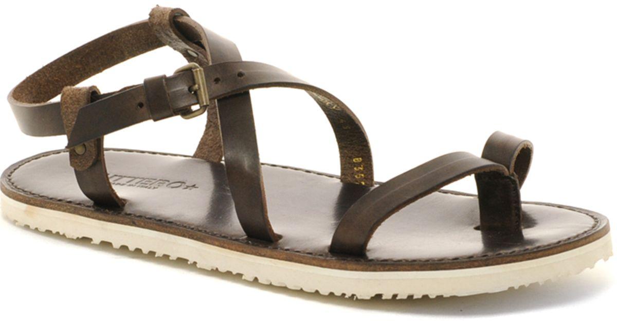 Contrast Men Buttero Brown For Sole Sandals Leather l1JuTF3Kc