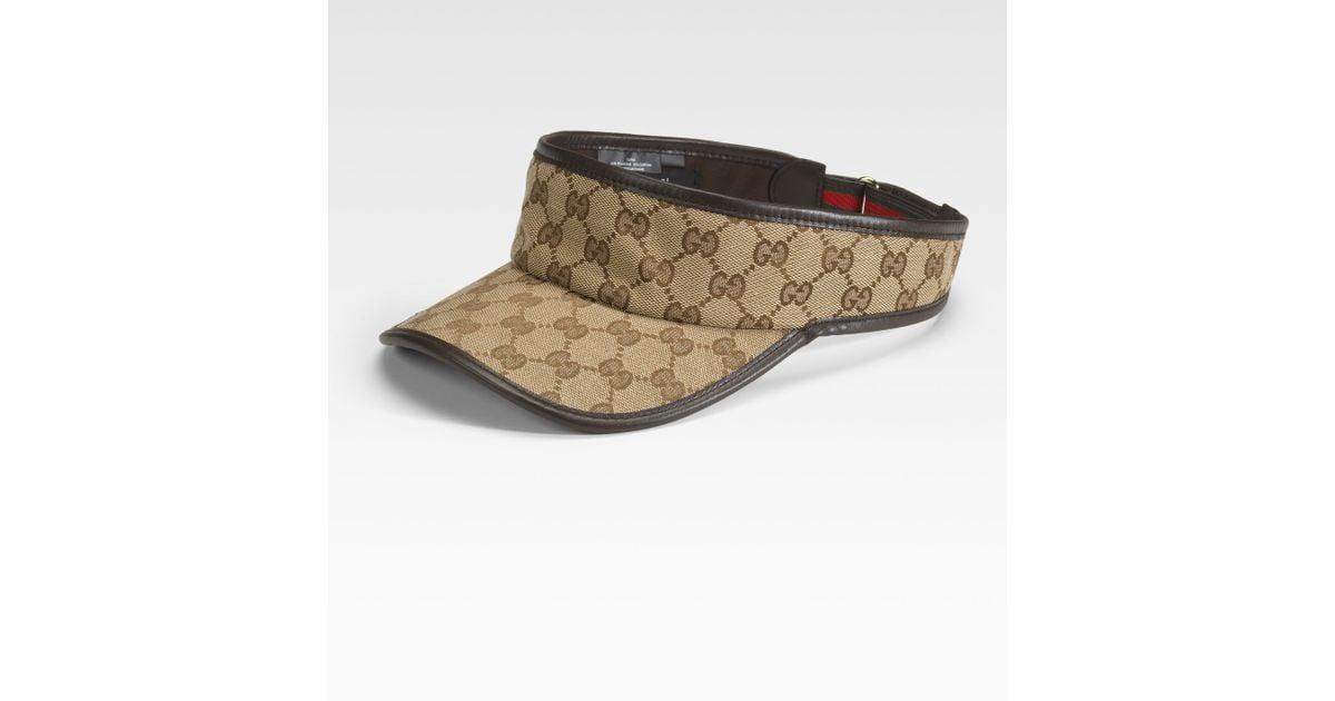 Gucci Natural Visor for men