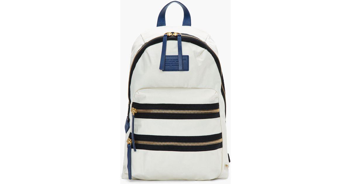 922dc8c2ce29 Marc By Jacobs White Domo Arigato Packrat Backpack - Motorslist