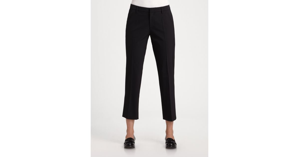 Clearance Best Seller Discount Wholesale Prada cropped trousers Free Shipping Find Great Huge Surprise Cheap Online Shopping Online cT1pUCAdJ