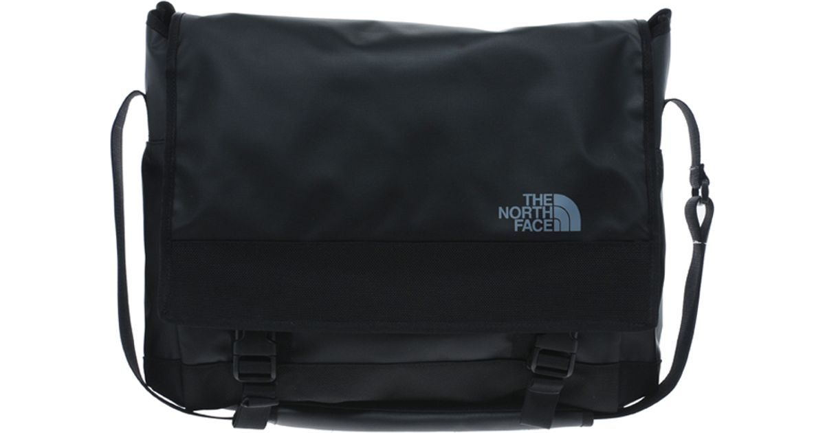 Lyst - The North Face Base Camp Messenger Bag in Black for Men 1f3ba99023728