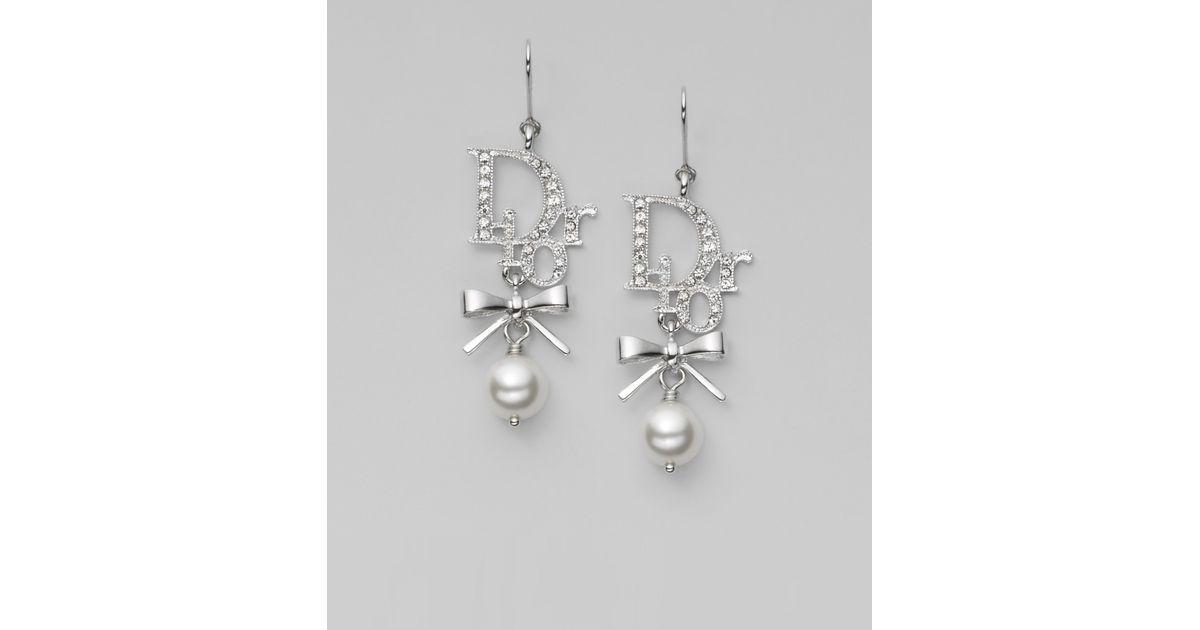 Dior Or Long Earrings mZJFym