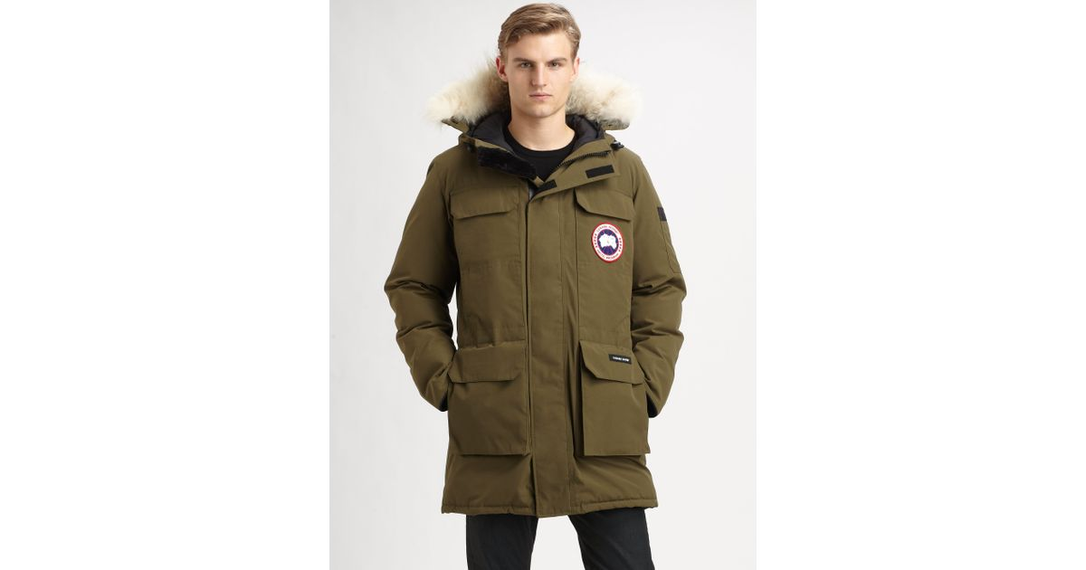 Canada Goose coats sale price - Canada goose Citadel Parka in Green for Men | Lyst