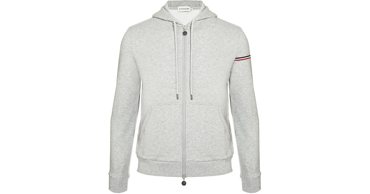 Moncler Maglia Jersey Cardigan in Gray for Men - Lyst a477f265ceb
