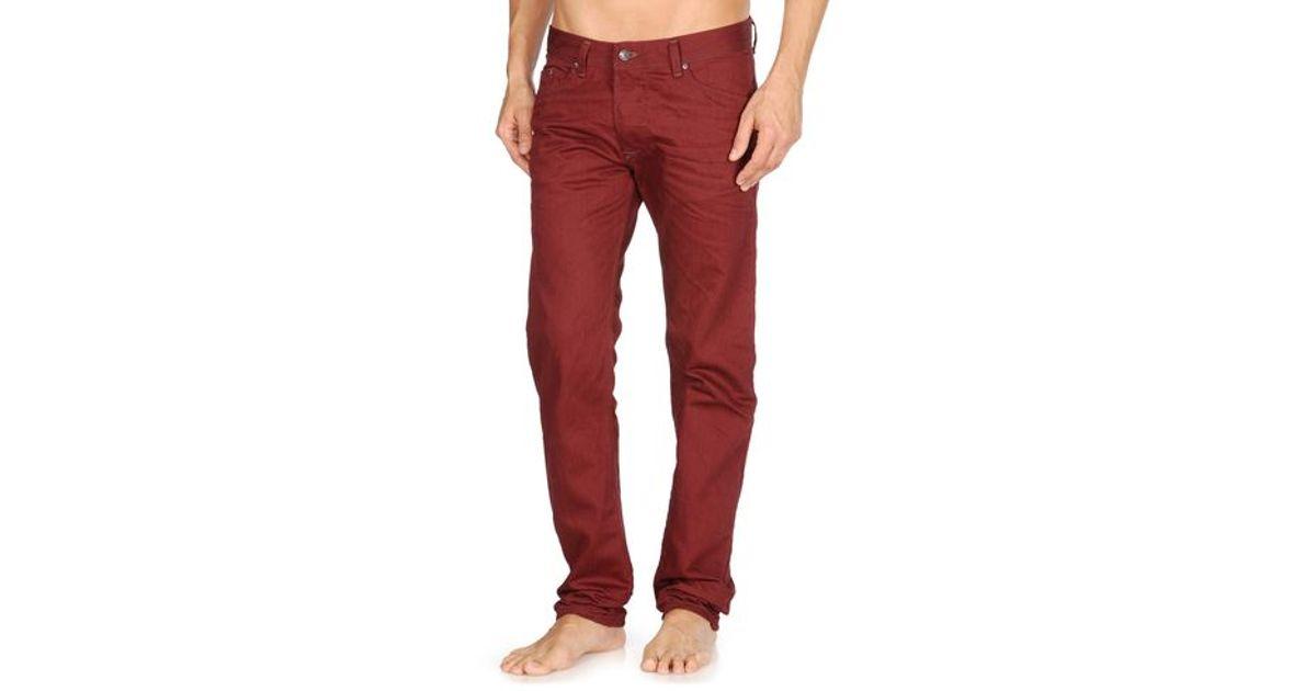 0003e3c4 DIESEL Darron 008qu in Red for Men - Lyst