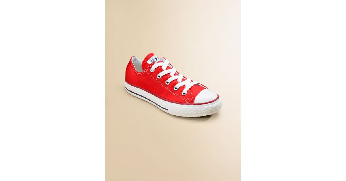 9e65b28c8a8c Lyst - Converse Kids Chuck Taylor All Star Laceup Sneakers in Red for Men