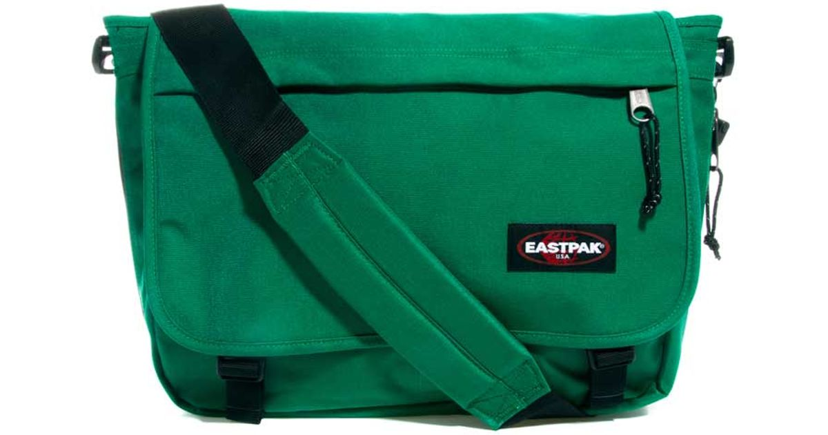 Eastpak Green Delegate Messenger Bag For Men