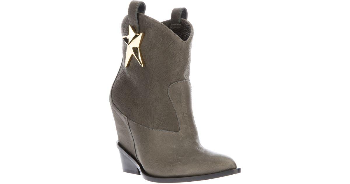 Giuseppe Zanotti Star Motif Cowboy Boot