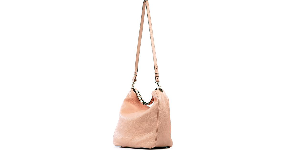 a418762edaa9 Mulberry Eliza Large Grainedleather Hobo in Natural - Lyst