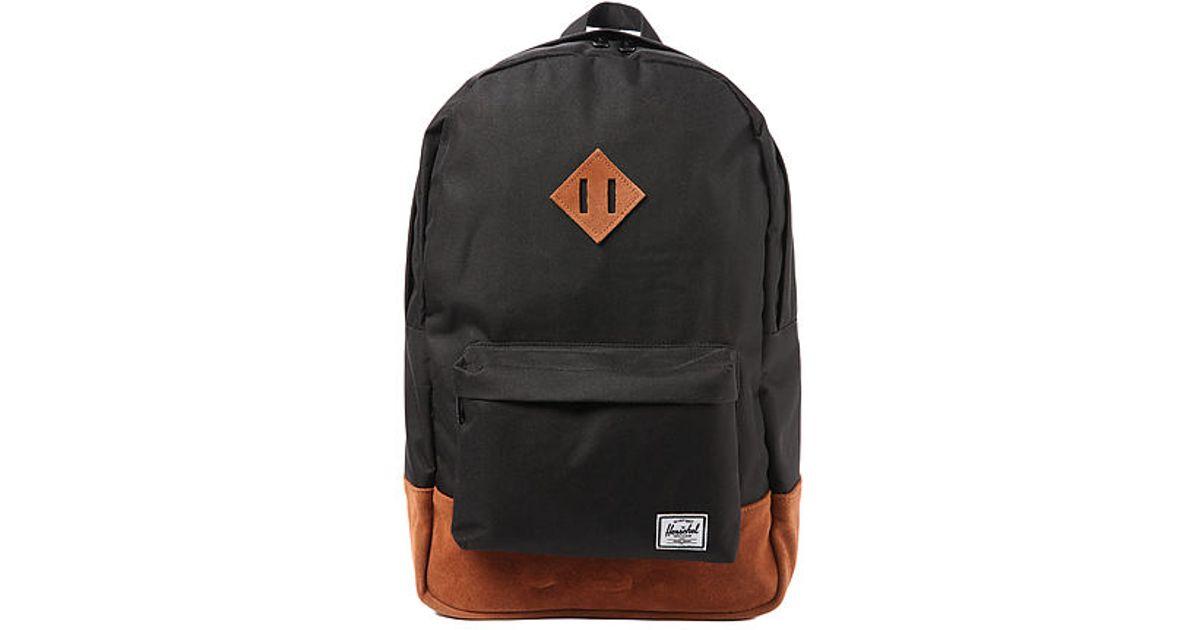 6120d7ffe40 Lyst - Herschel Supply Co. Heritage Backpack in Black for Men