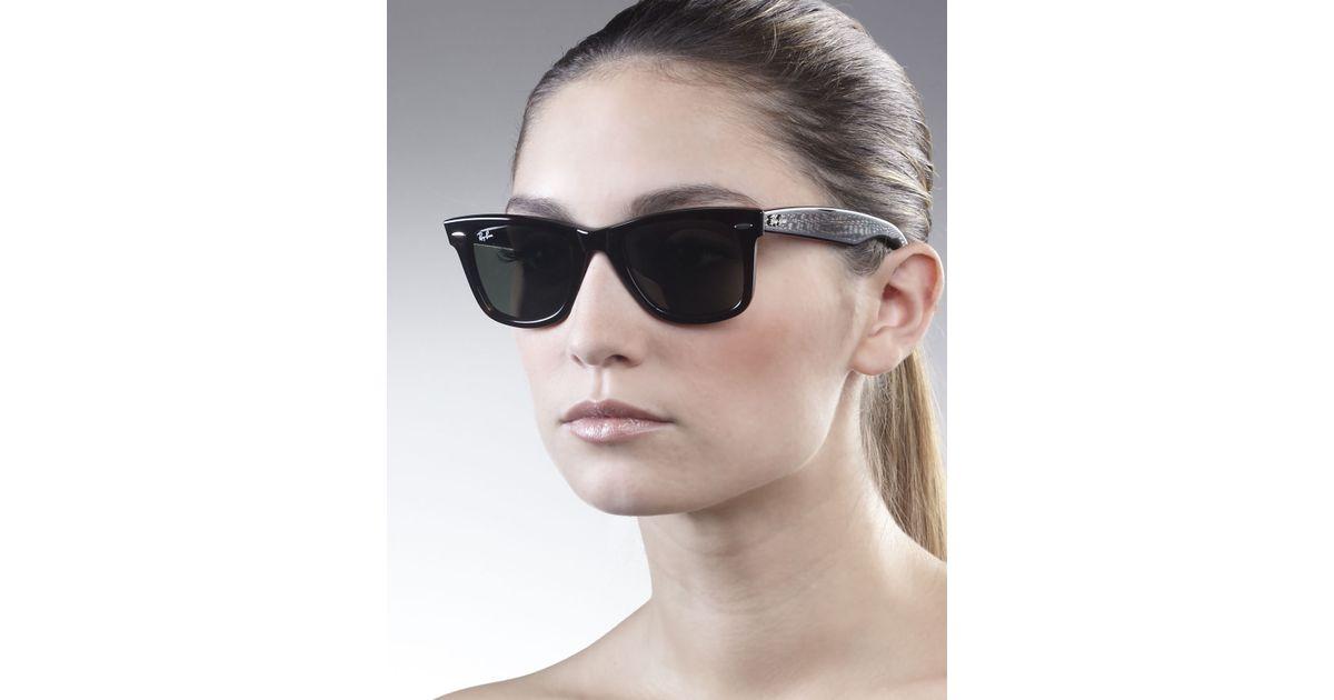 dc08227779e3 Ray-Ban Original Wayfarer Sunglasses Tortoise in Black - Lyst