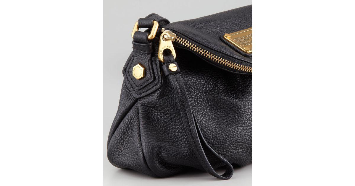 1dc6b0b4e5ee Lyst - Marc By Marc Jacobs Classic Q Mini Natasha Crossbody Bag Black in  Black