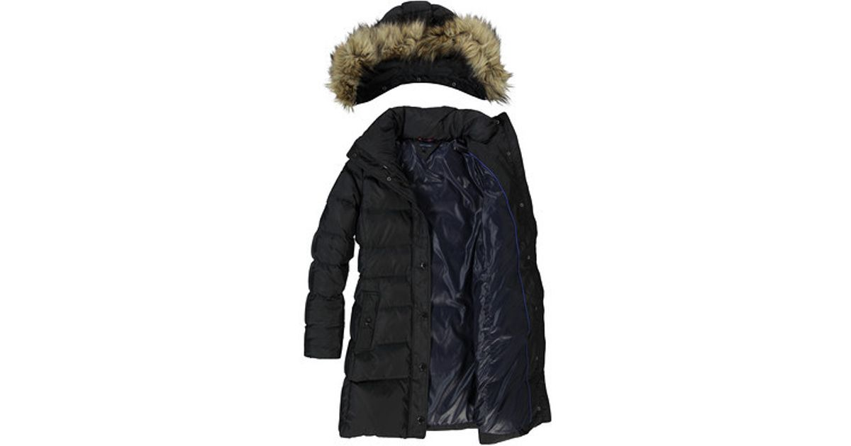 6bc41ca98 Tommy Hilfiger Black Maine Down Filled Coat