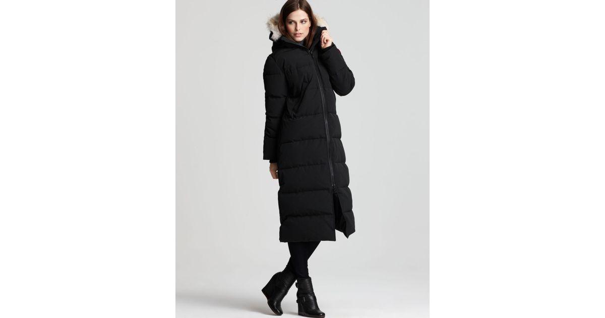 Canada Goose mens replica discounts - Canada goose Maxi Coat - Mystique in Black | Lyst