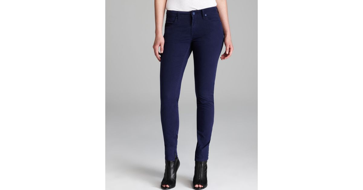 387b6db5512a Lyst - Burberry Brit Bayswater Skinny Jeans in Blue