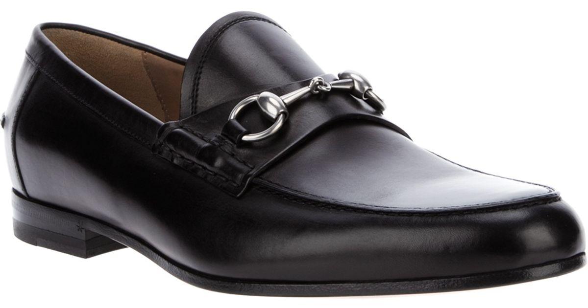 8aebfc26f Lyst - Gucci Horsebit Loafer in Black for Men