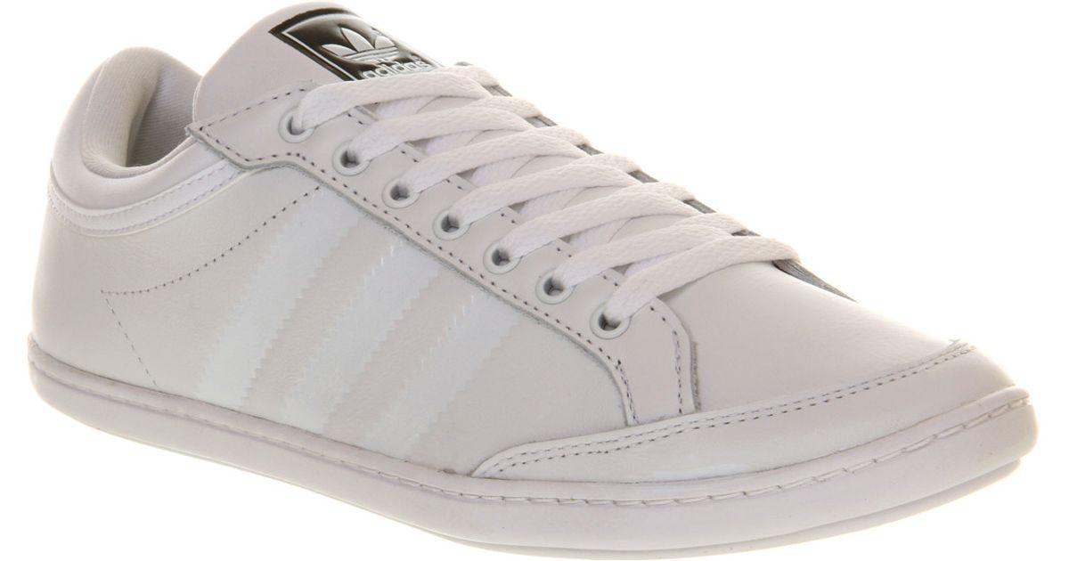 Adidas Plimcana Low White White for men