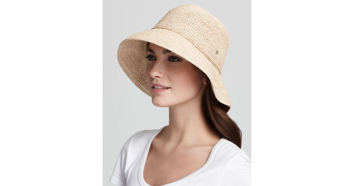 e4b64cb2d6b Lyst - Helen Kaminski Provence 8 Raffia Hat in Natural