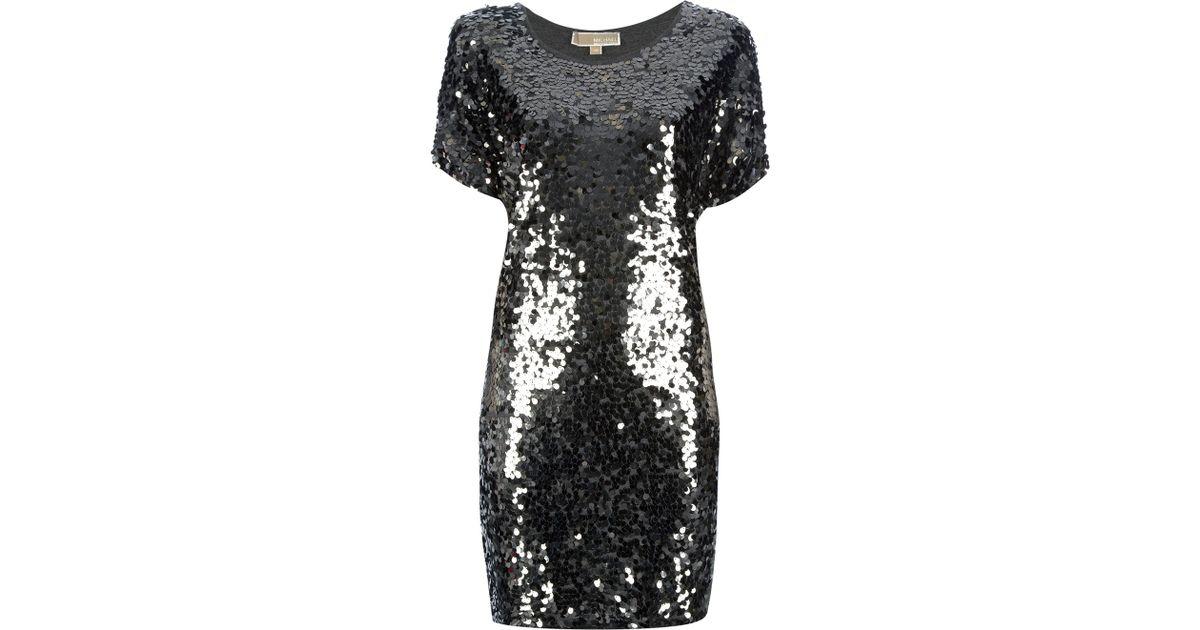 03a665c299c MICHAEL Michael Kors Sequin Dress in Metallic - Lyst