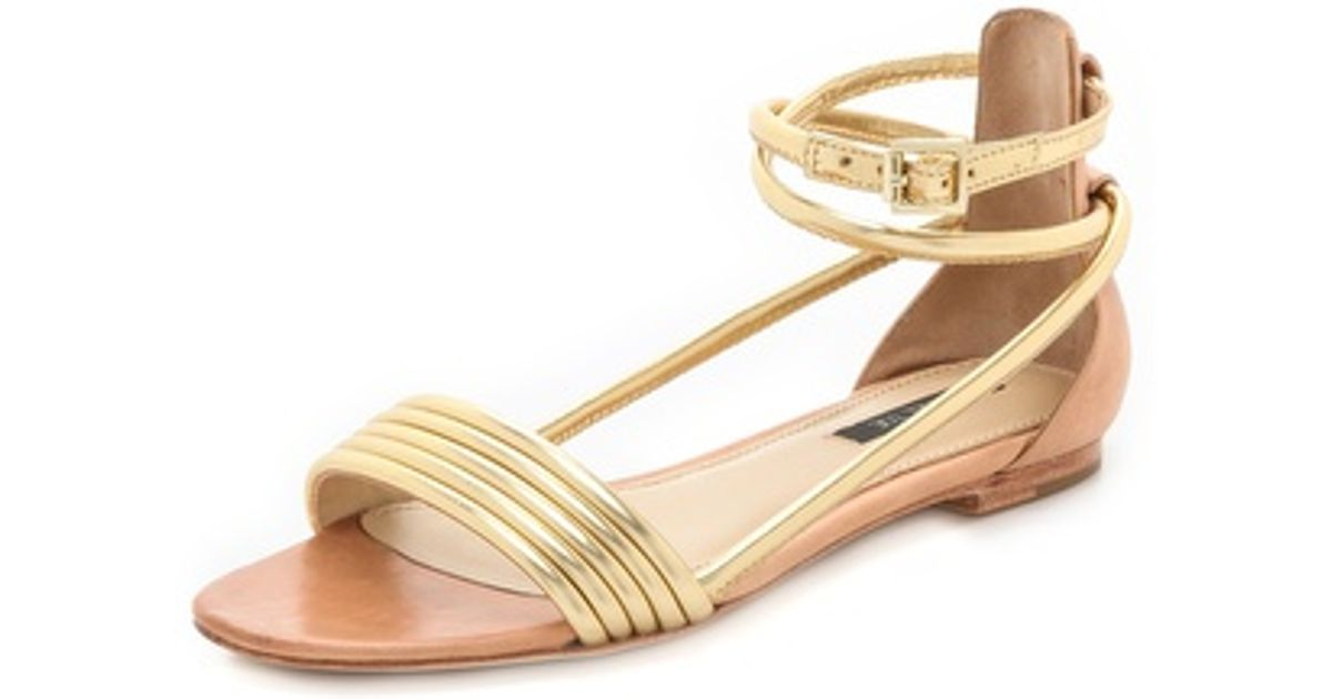 Rachel Zoe Georgie Snakeskin Sandals w/ Tags visa payment sale online XR3rtG