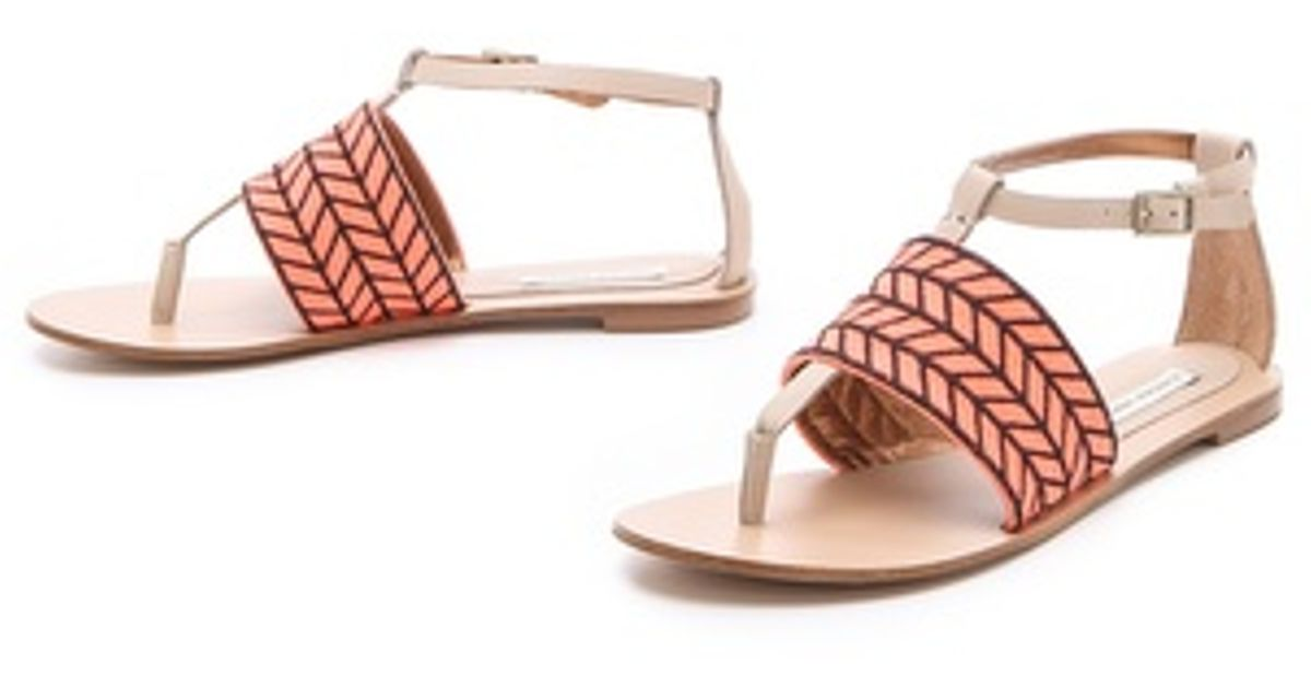d868439e1734f3 Lyst - Twelfth Street Cynthia Vincent Fallon Sandals in Natural