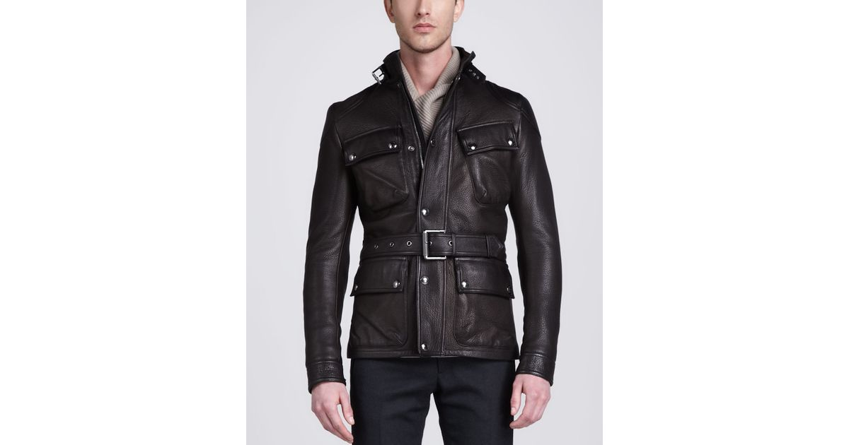 Belstaff Circuitmaster Leather Jacket