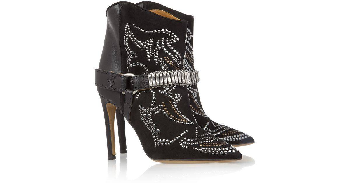Isabel Marant Milwauke Studded Ankle Boots clearance prices hot sale for sale buy cheap sast g8UiK1E