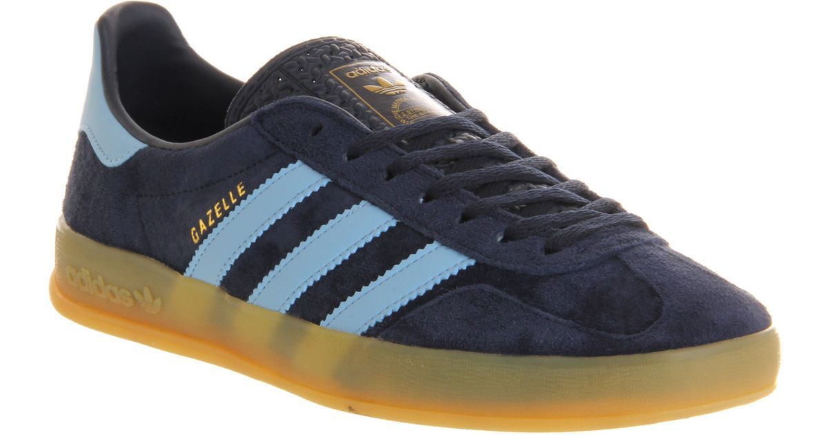 Adidas Gazelle Indoor New Navy Argentina Blue for men