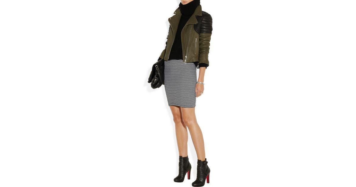 008574ccdb7 Christian Louboutin Black Lamu 120 Leather Ankle Boots