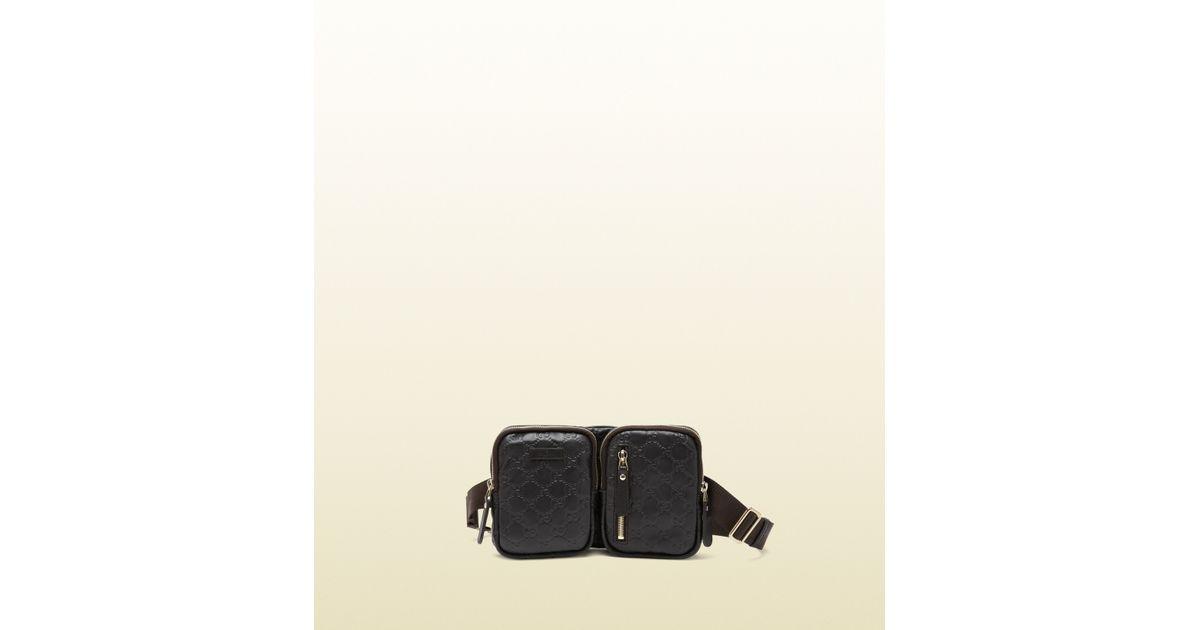 c12bb0ed4240 Gucci Belt Bag in Brown for Men - Lyst