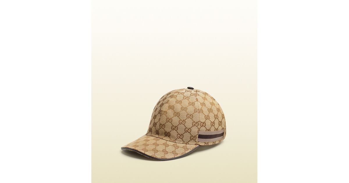 e84971ef021 Lyst - Gucci Original Gg Canvas Baseball Hat in Brown for Men